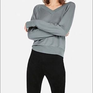BRAND NEW Express One Eleven Double V Sweatshirt